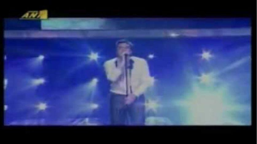 Λεωνιδας Μπαλαφας (live) - Για ενα κομματι ψωμι - Τελικος Fame Story 2007