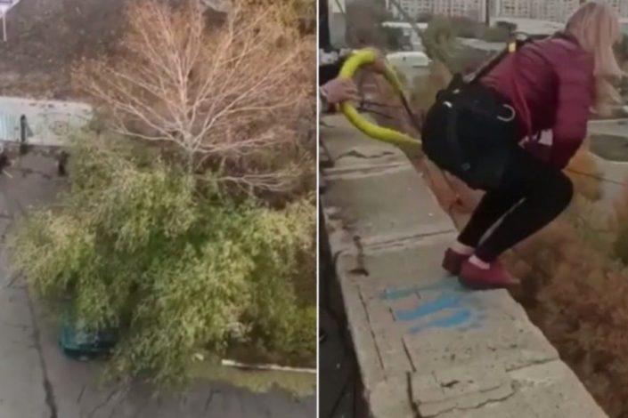 Βουτιά θανάτου για μητέρα από τα 25 μέτρα – Ήθελε να κάνει πτώση bungee jumping και το σκοινί δεν άντεξε